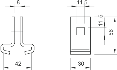 Схема Балочный зажим — арт.: 6018963