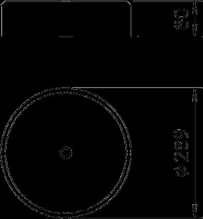 Схема Бетонное основание FangFix без рамки, 10 кг — арт.: 5403117