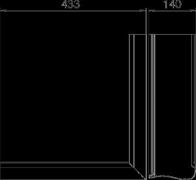 Схема Крышка внешнего угла Swing — арт.: 6115851