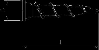 Схема Дюбель для гипсокартона — арт.: 3483239