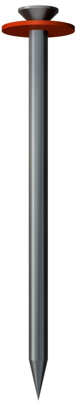 Стальной гвоздь Impu, с шайбой из вулканизированной фибры — арт.: 3360121