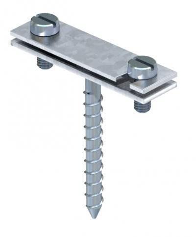 Держатель для плоских проводников с шурупом — арт.: 5030242