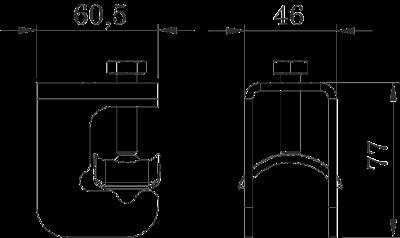 Схема Арматурный соединитель для больших стержней — арт.: 5014477