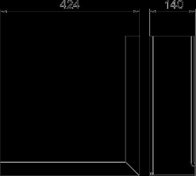 Схема Крышка внешнего угла Style — арт.: 6115865