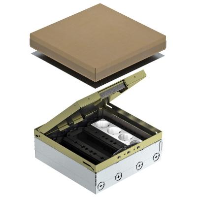 Лючок UDHome9 с модульной рамкой MT4, укомплектованный, из латуни — арт.: 7427312