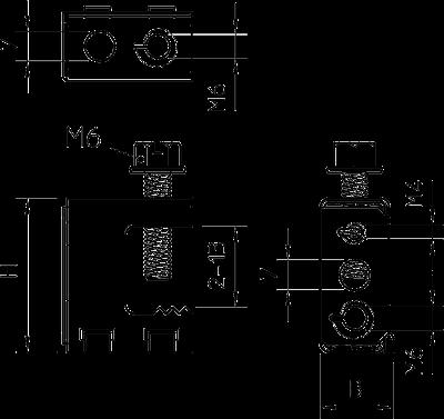 Схема Винтовой балочный зажим универсальный — арт.: 1484702