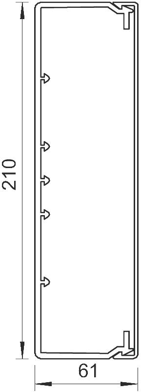 Схема Кабельный короб WDK 60210 — арт.: 6191266
