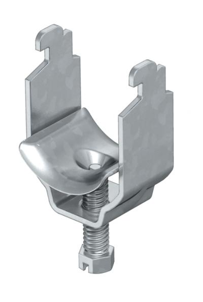Зажимная скоба 1-секционная, с металлической прижимной пластиной — арт.: 1155407