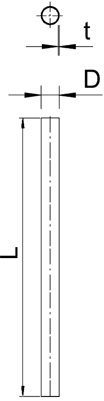 Схема Стальная панцирная труба без резьбы — арт.: 2046593