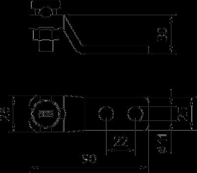 Схема Клемма для подключения в соответствии с DIN — арт.: 5304601