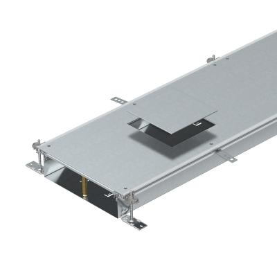 Секция кабельного канала с крышкой для лючка GES4, высота 100 — 150 мм — арт.: 7424620