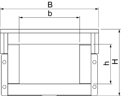 Схема Огнестойкий кабельный канал, внутренняя высота 105 мм — арт.: 7215186