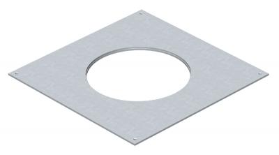 Крышка монтажного основания 250-3 с отверстием для лючка GESR4 — арт.: 7400471