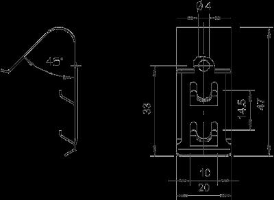 Схема Фиксатор крышки универсальный — арт.: 6065600