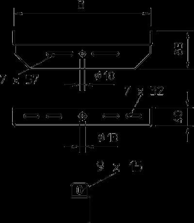 Схема Центральный потолочный подвес универсальный — арт.: 6358853