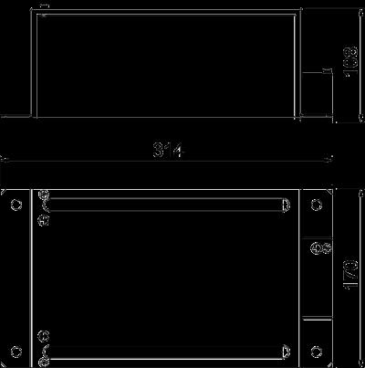Схема Редукционная Т-образная секция — арт.: 7216467