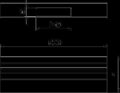 Схема Т-образная секция для кабельного короба высотой 70 мм — арт.: 6279463