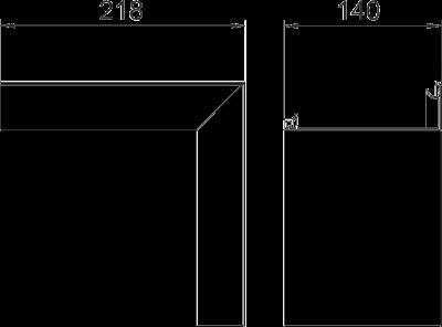 Схема Крышка внутреннего угла Style — арт.: 6115895