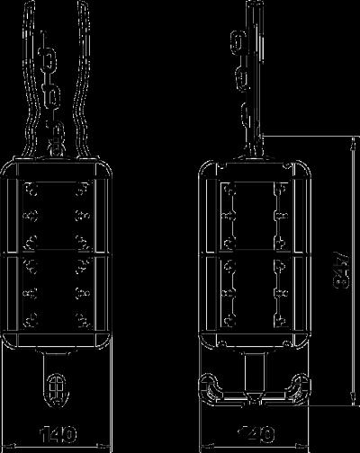 Схема Блок питания VH-8, пустой — арт.: 6109821