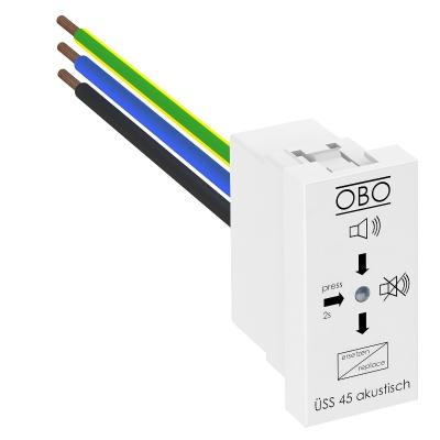 Модуль для защиты от перенапряжений с акустической сигнализацией, ширина 1/2 модуля — арт.: 6117465