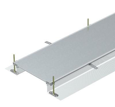 Секция кабельного канала глухая, высота 40 — 140 мм — арт.: 7424000