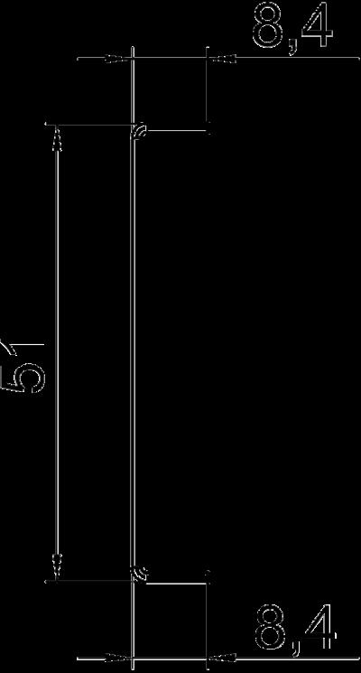Схема Разделительная перегородка для кабельного короба высотой 70 мм — арт.: 6279711