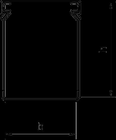 Схема Распределительный кабельный короб LK4 80100 — арт.: 6178059