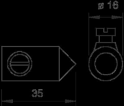 Схема Наконечник молниеприемного стержня — арт.: 5405068