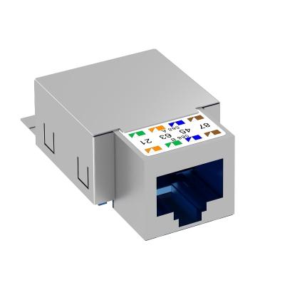 Телекоммуникационный модуль RJ45, CAT. 6, экранированный — арт.: 6117329