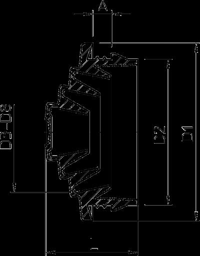 Схема Вставной уплотнитель EDVS — арт.: 2012375