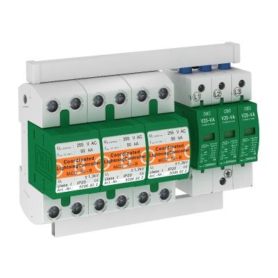Комплект защиты MCD + V20, с защитой от тока утечки, 3-полюсный — арт.: 5089768