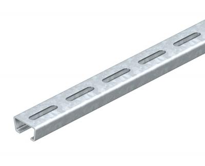 Профильная рейка с шириной шлица 16,5 мм, перфорированная — арт.: 1112708