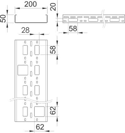 Схема Мини-канал AZ 200 — арт.: 6075345