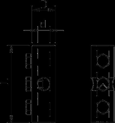 Схема Крестообразный соединитель — арт.: 5408296
