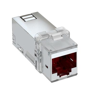 Телекоммуникационный модуль RJ45, CAT. 6A (ISO), экранированный — арт.: 6117346