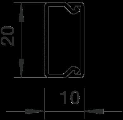 Схема Кабельный короб WDK 10020 — арт.: 6150764
