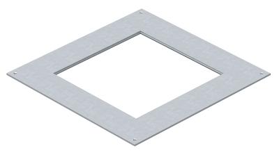 Крышка монтажного основания 350-3 с отверстием для лючка GES9 — арт.: 7400513