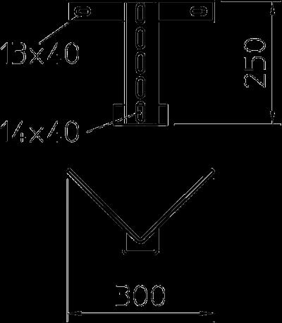 Схема Угловое крепление — арт.: 6346763