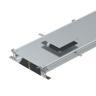 Секция кабельного канала с крышкой для лючка GES9, высота 100 — 150 мм — арт.: 7424740