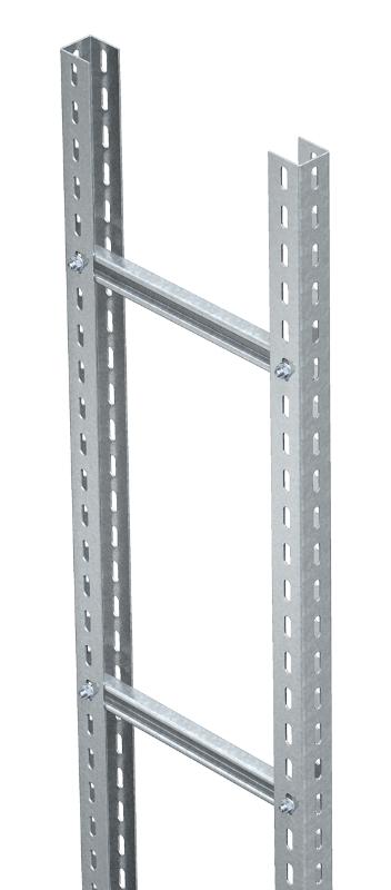 Усиленный вертикальный кабельный лоток лестничного типа, длина 3000 мм — арт.: 6010466