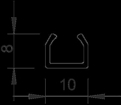 Схема Мини-канал на клейкой основе M9 — арт.: 6150098