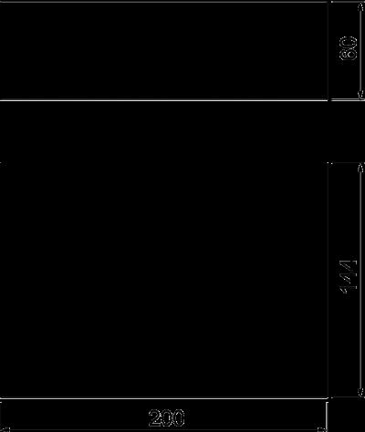 Схема Огнестойкий пеноблок PYROPLUG® — арт.: 7202505