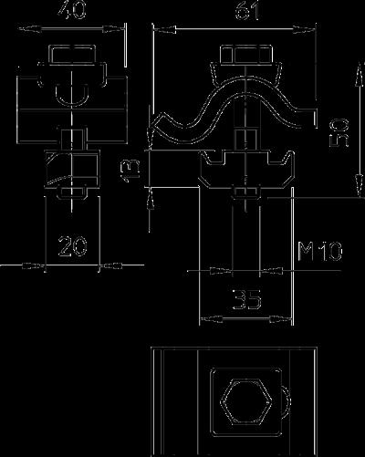 Схема Фиксатор TKH для малых нагрузок — арт.: 6355812