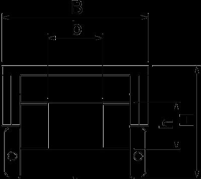 Схема Огнестойкий кабельный канал, внутренняя высота 50 мм — арт.: 7215174