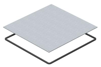 Заглушка влагозащитная для монтажного основания UZD250-4 — арт.: 7400589
