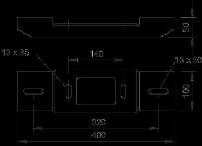 Схема Адаптерная пластина симметричная — арт.: 6346804
