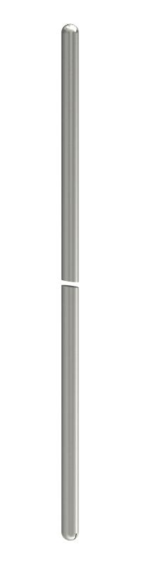 Молниеприемный стержень/стержень заземления, с двусторонне округленным краем — арт.: 5420504