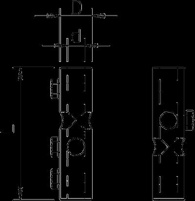 Схема Двойной крестообразный соединитель — арт.: 5408245