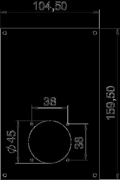 Схема Плата VHF для 1 навесной розетки ASD — арт.: 6109856