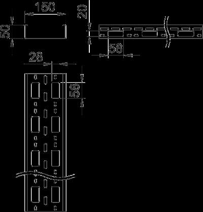Схема Мини-канал AZ 150 мм — арт.: 6075330